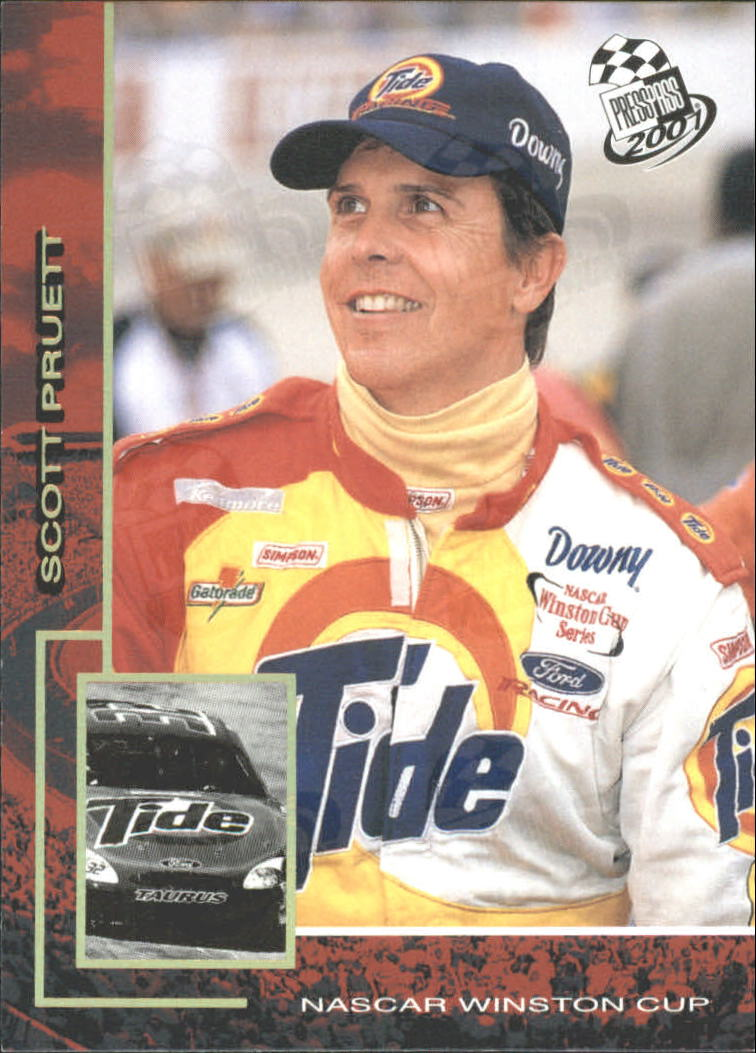 2001 Press Pass Millennium #34 Scott Pruett