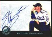 2001 Press Pass Autographs #39 Elton Sawyer