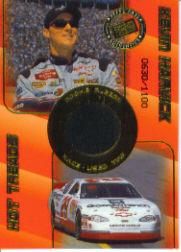 2001 Press Pass Hot Treads Rookie Rubber #RR5 Kevin Harvick