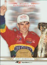 2001 Super Shots Hendrick Motorsports #H8 Jeff Gordon