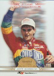 2001 Super Shots Hendrick Motorsports #H9 Jeff Gordon