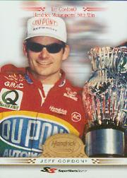 2001 Super Shots Hendrick Motorsports #H11 Jeff Gordon