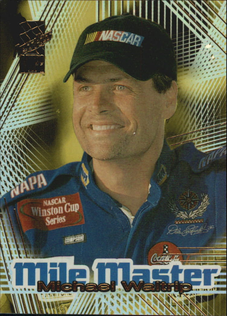 2001 VIP Mile Masters #MM3 Michael Waltrip