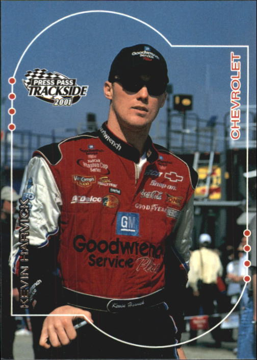 2001 Press Pass Trackside #5 Kevin Harvick CRC