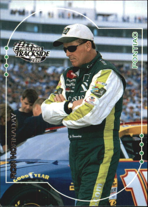 2001 Press Pass Trackside #12 Ron Hornaday