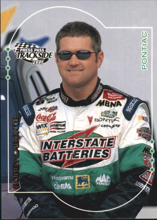 2001 Press Pass Trackside #13 Bobby Labonte