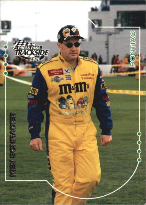 2001 Press Pass Trackside #14 Ken Schrader