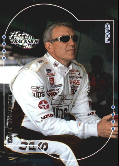 2001 Press Pass Trackside #21 Dale Jarrett