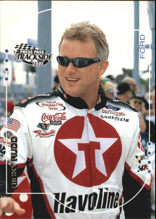 2001 Press Pass Trackside #26 Ricky Rudd