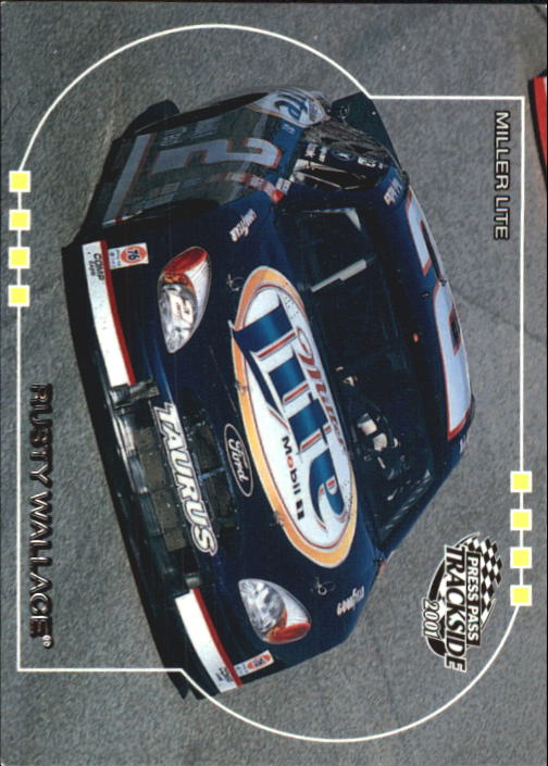 2001 Press Pass Trackside #40 Rusty Wallace's Car