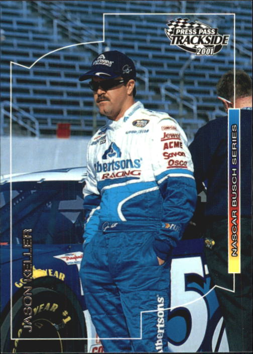 2001 Press Pass Trackside #59 Jason Keller