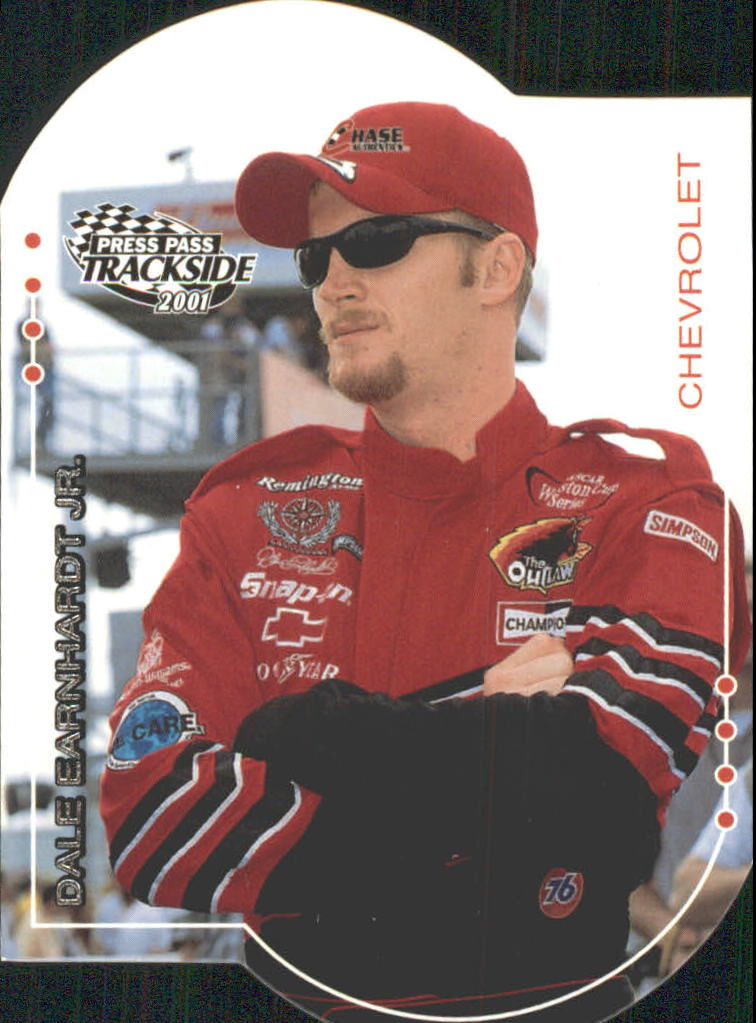 2001 Press Pass Trackside Die Cuts #1 Dale Earnhardt Jr.