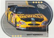 2001 Press Pass Trackside Die Cuts #45 Matt Kenseth's Car