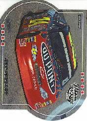 2001 Press Pass Trackside Die Cuts #48 Jeff Gordon's Car