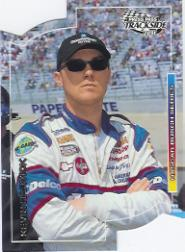 2001 Press Pass Trackside Die Cuts #53 Kevin Harvick