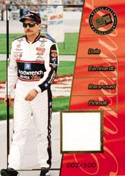2001 Press Pass Premium Race Used Firesuit Drivers #FD3 Dale Earnhardt