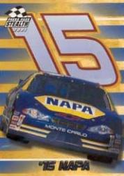 2001 Press Pass Stealth #17 Michael Waltrip's Car