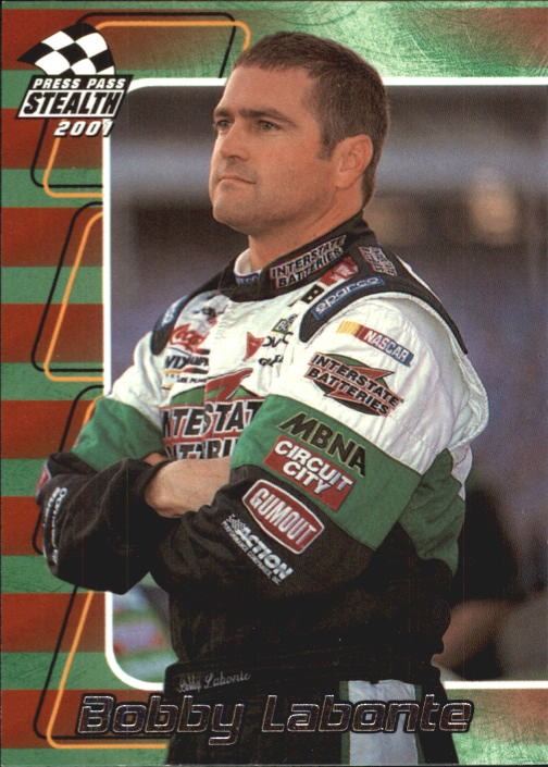 2001 Press Pass Stealth #19 Bobby Labonte