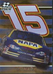 2001 Press Pass Stealth Holofoils #17 Michael Waltrip's Car