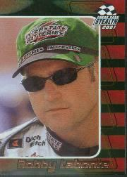 2001 Press Pass Stealth Holofoils #21 Bobby Labonte