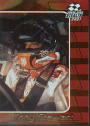 2001 Press Pass Stealth Holofoils #24 Tony Stewart