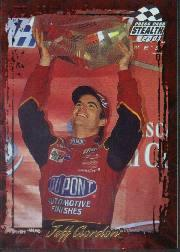 2001 Press Pass Stealth Holofoils #56 Jeff Gordon WIN