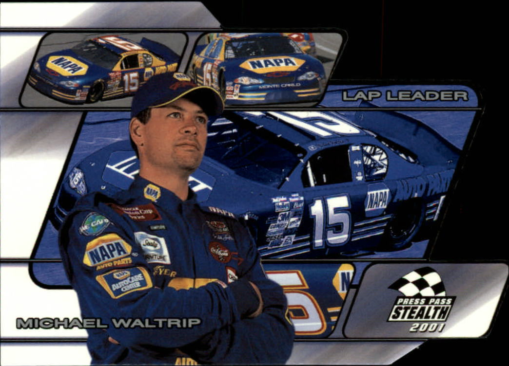 2001 Press Pass Stealth Lap Leaders #LL5 Michael Waltrip
