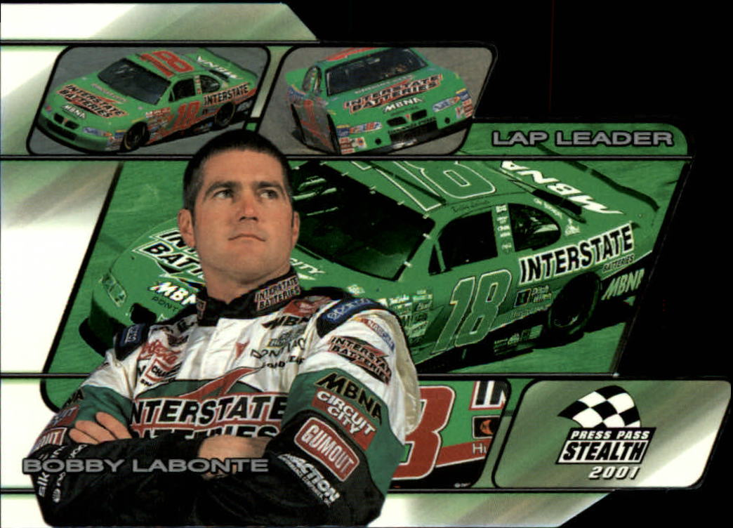 2001 Press Pass Stealth Lap Leaders #LL7 Bobby Labonte