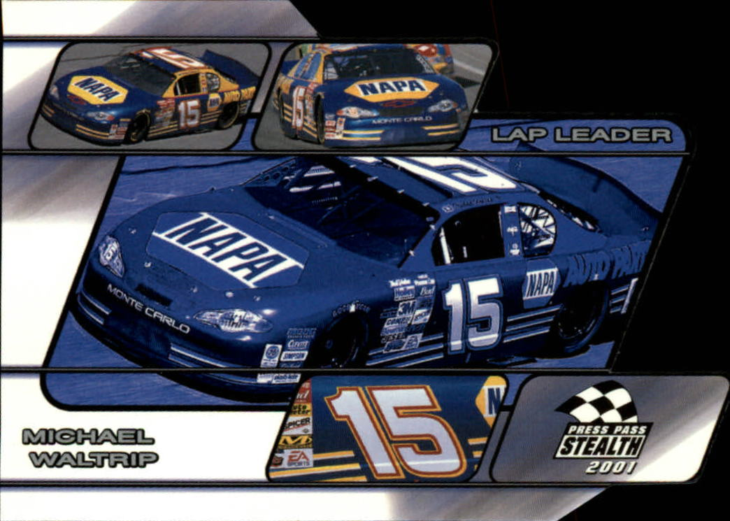 2001 Press Pass Stealth Lap Leaders #LL23 Michael Waltrip's Car