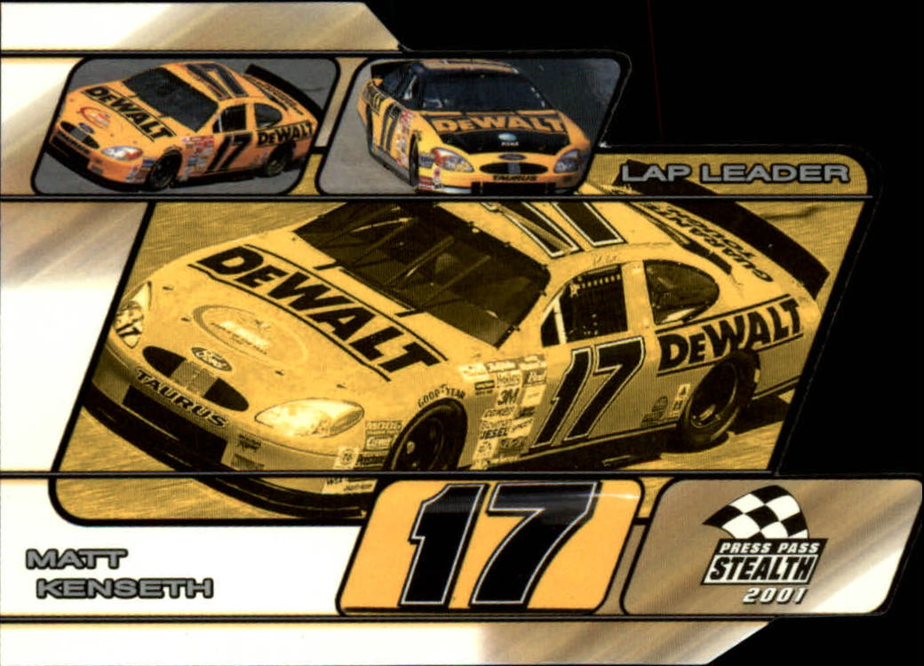 2001 Press Pass Stealth Lap Leaders #LL24 Matt Kenseth's Car