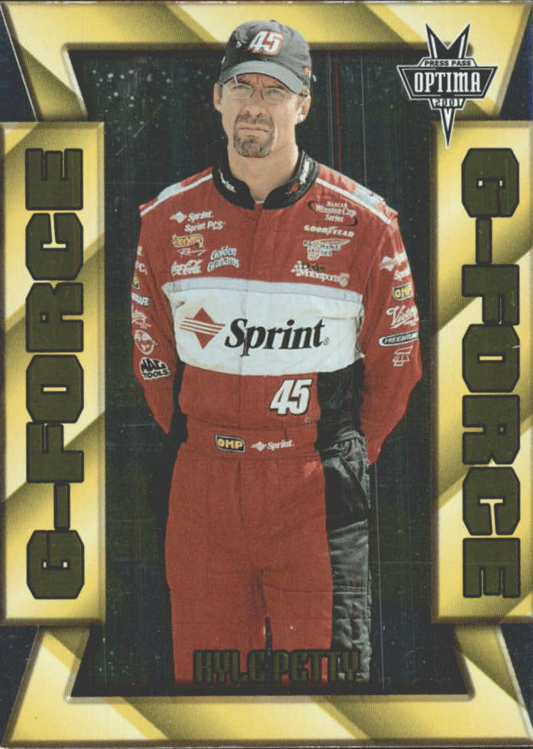 2001 Press Pass Optima G Force #GF18 Kyle Petty