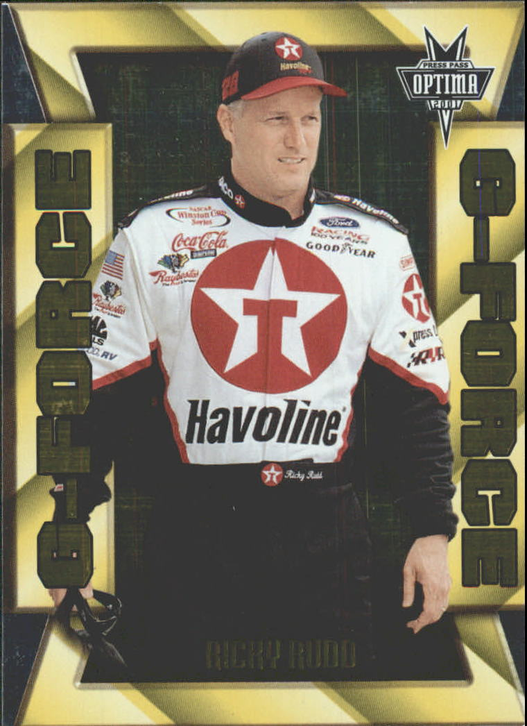 2001 Press Pass Optima G Force #GF20 Ricky Rudd