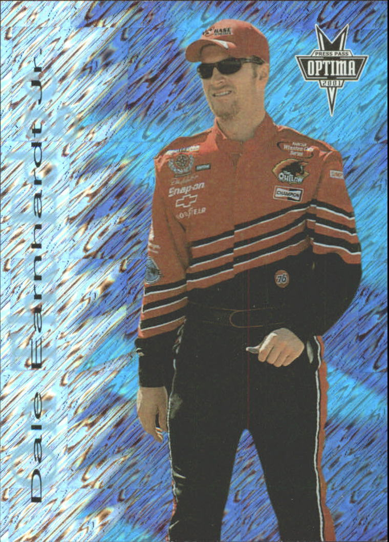 2001 Press Pass Optima On the Edge #OE1 Dale Earnhardt Jr.
