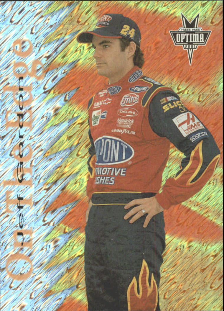 2001 Press Pass Optima On the Edge #OE2 Jeff Gordon