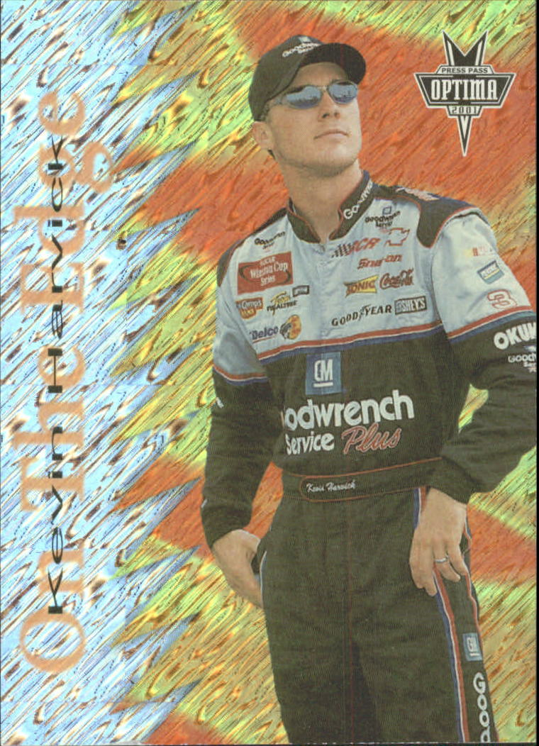 2001 Press Pass Optima On the Edge #OE3 Kevin Harvick