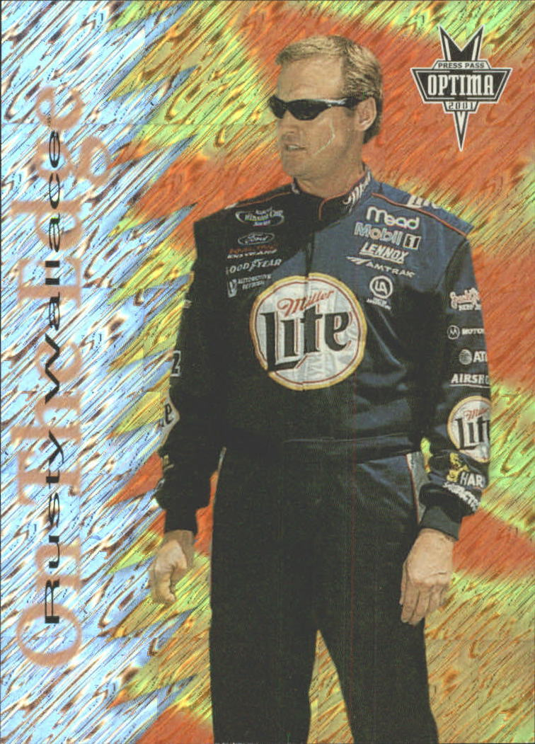 2001 Press Pass Optima On the Edge #OE9 Rusty Wallace