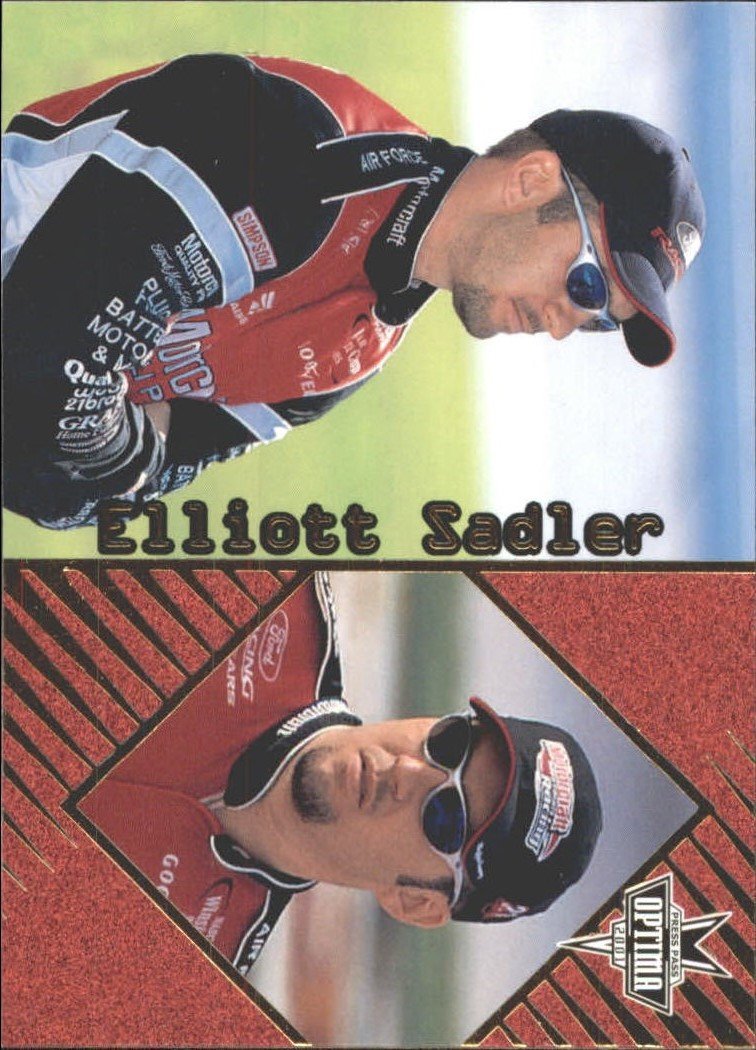 2001 Press Pass Optima Gold #21 Elliott Sadler