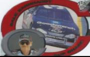 2001 Press Pass Cup Chase Die Cut Prizes #CC3 Dale Earnhardt