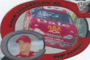 2001 Press Pass Cup Chase Die Cut Prizes #CC7 Dale Earnhardt Jr.