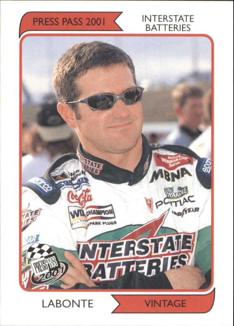 2001 Press Pass Vintage #VN1 Bobby Labonte