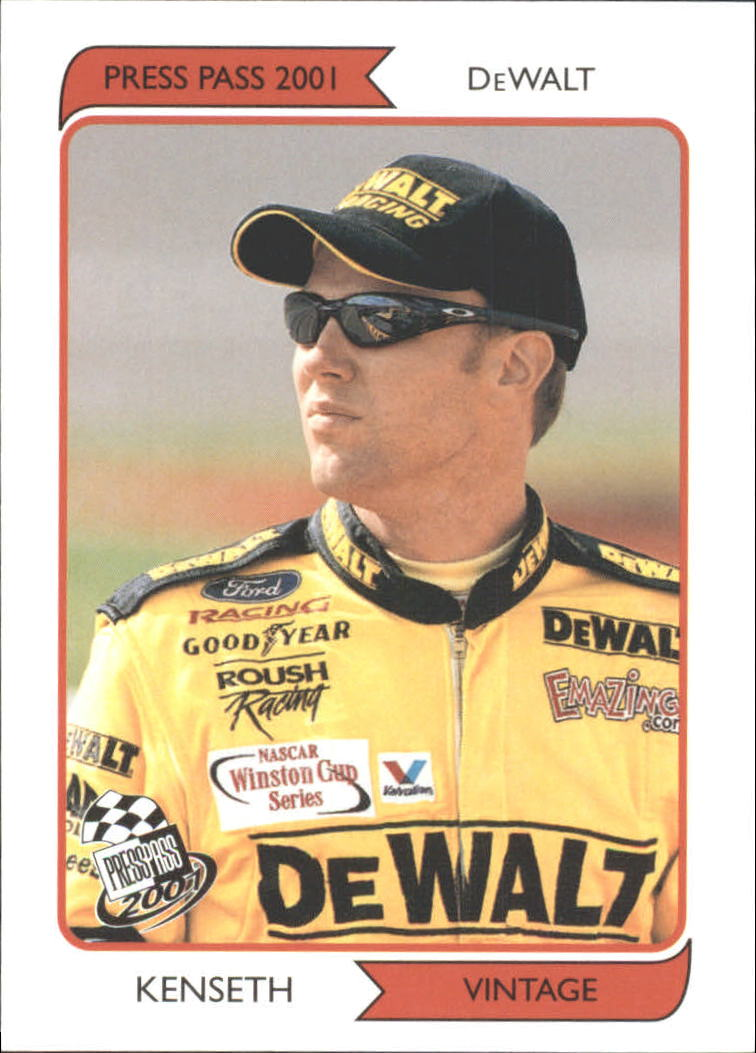 2001 Press Pass Vintage #VN13 Matt Kenseth