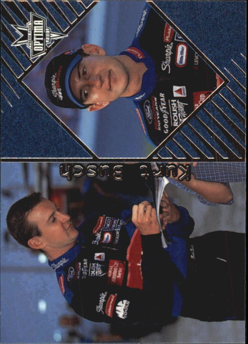 2001 Press Pass Optima #4 Kurt Busch CRC