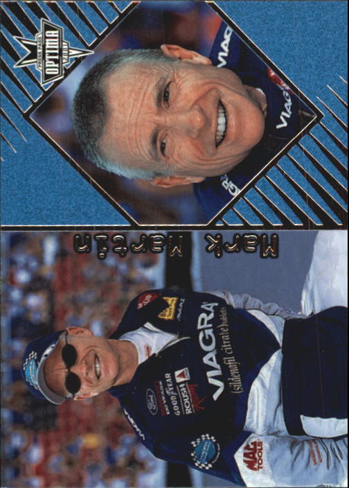2001 Press Pass Optima #14 Mark Martin