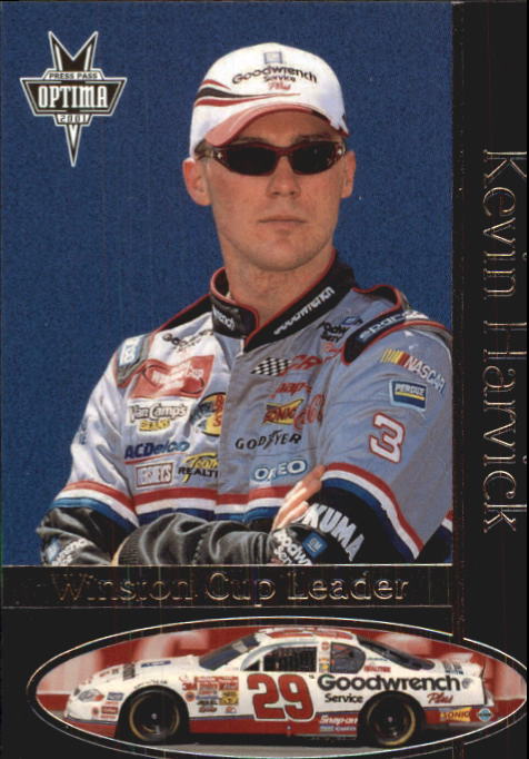 2001 Press Pass Optima #43 Kevin Harvick WCL