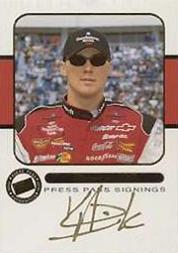 2001 Press Pass Signings Gold #14 Kevin Harvick WC V/S