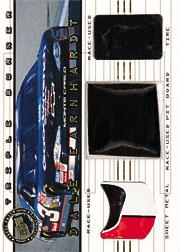 2001 Press Pass Triple Burner #TB3B Dale Earnhardt pit board