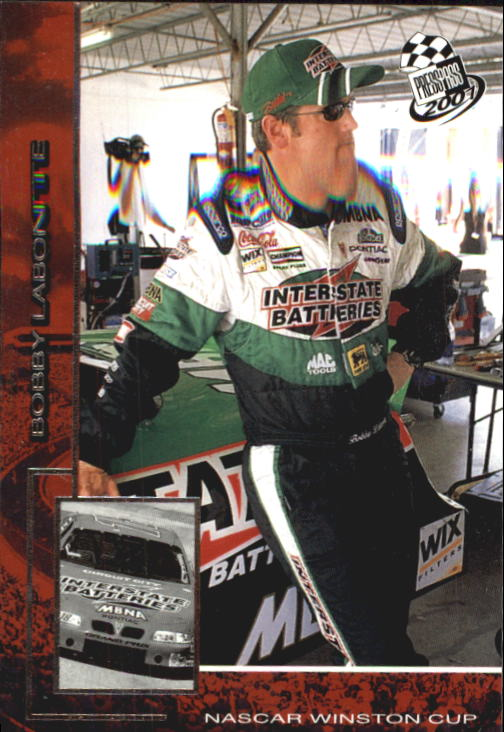 2001 Press Pass #1 Bobby Labonte