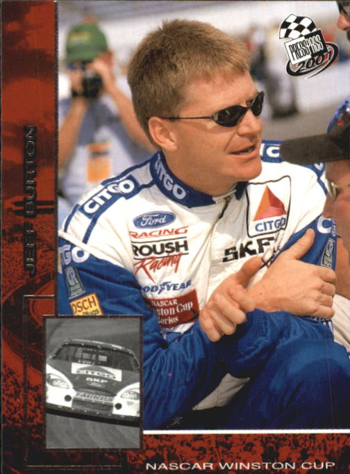 2001 Press Pass #3 Jeff Burton