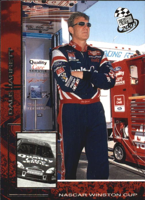 2001 Press Pass #4 Dale Jarrett
