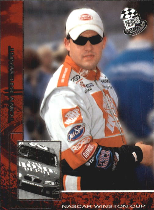 2001 Press Pass #6 Tony Stewart